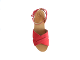 Rasberry Red Suede_