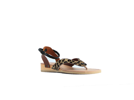 Leopard slippertjes