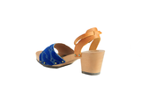 Funcky Pippi clogs in blue